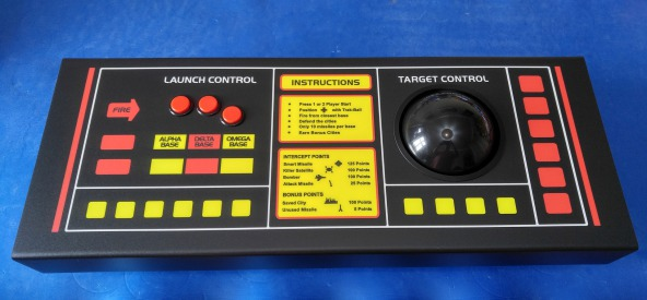 Missile Command Control Panel